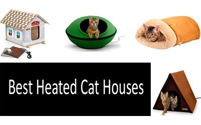 Best Heated Cat Houses min: photo