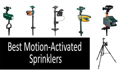 Best Motion-Activated Sprinklers min: photo