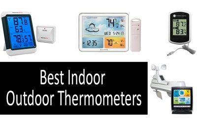 Best Indoor Outdoor Thermometers min: photo
