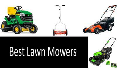 Best Lawn Mowers min: photo