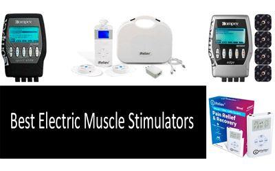 5 Best Electric Muscle Stimulators: photo