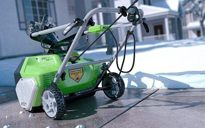 Best Greenworks Snow Blowers min: photo