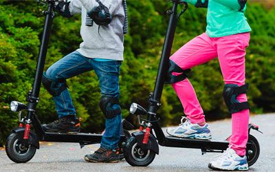 Best electric scooters for kids min: photo