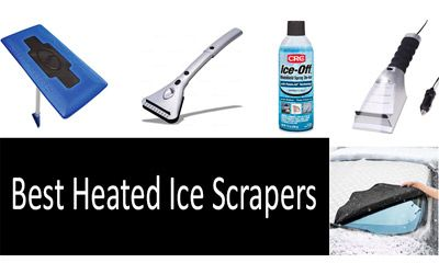 Best heated ice scrapers min: photo