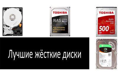 Лучшие жёсткие диски min: фото