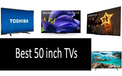 Best 50 inch TVs min: photo
