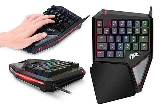 1byone Mechanical Gaming Keyboard: photo