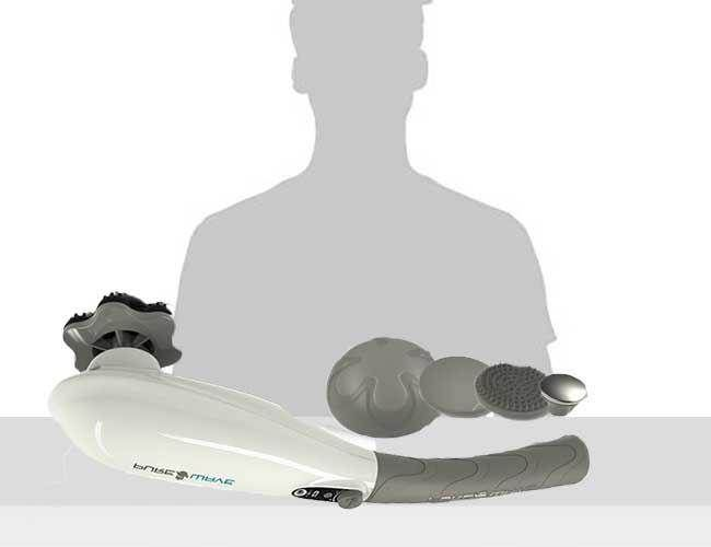 A Portable Back Massager with Beauty Mode