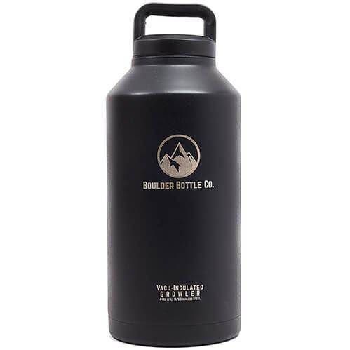 Insulated Beer Growler, Double-Wall Vacuum, Stainless Steel