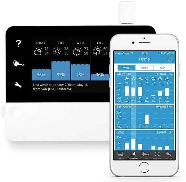RainMachine Touch HD-12 Smart WiFi Irrigation Controller,2nd Generation
