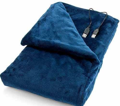 A USB Heated Blanket