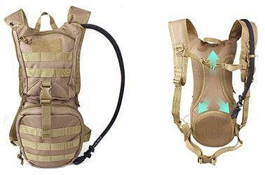 A Reliable Hydration Pack with Bacteria Protection