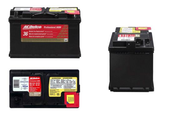 ACDelco 94RAGM Professional Battery: photo