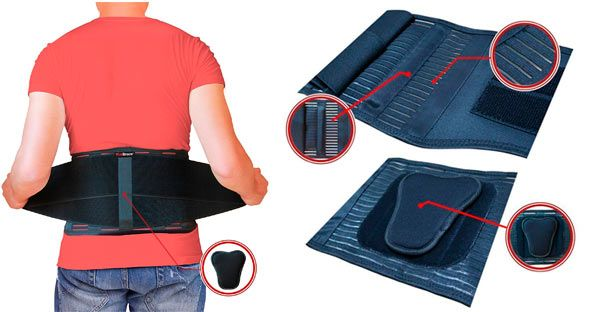 AidBrace Back Support Belt: photo