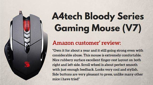 gaming mouse Bloody V7
