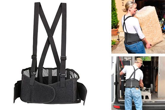 Brace with Adjustable Suspenders: photo