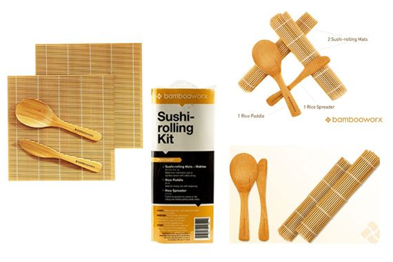 BambooWorx Sushi Making Kit: photo
