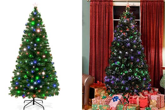 TOP-5 Best Fiber Optic Christmas Trees In 2018 From $40 To