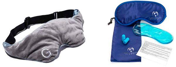 Best cooling sleep masks: photo