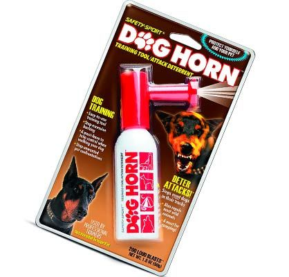 SAFETY-SPORT DOG HORN