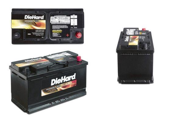 DieHard Advanced Gold AGM Battery: photo