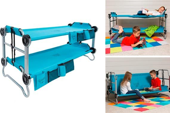 Children's Bunk Bed Cot by Disc-O-Bed: photo
