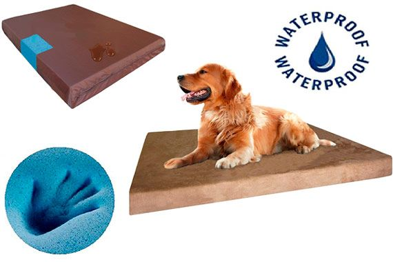 Dogbed4less Orthopedic Cooling Dog Bed: photo