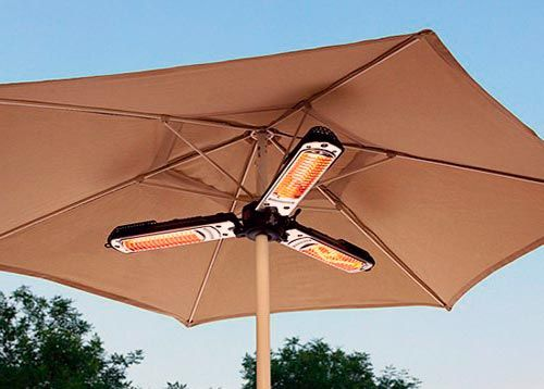 Bon Electric Patio Heater Parasol