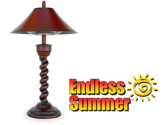 Genial Endless Summer Electric Tabletop Heater