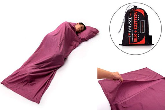 FiveJoy Sleeping Bag Liner: photo
