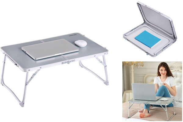 Foldable Laptop Stand for Bed: photo