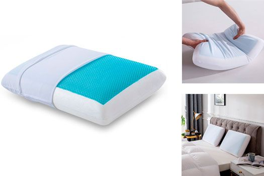 Gel Pillow for Sleeping Cool: photo