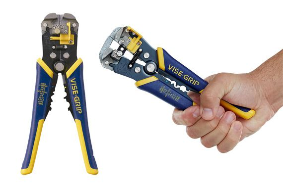 IRWIN VISE-GRIP Wire Stripper: photo