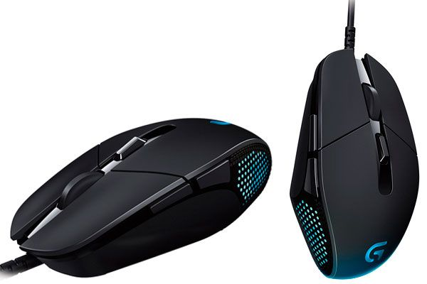 logitech G302 Daedalus Gaming Mouse: photo