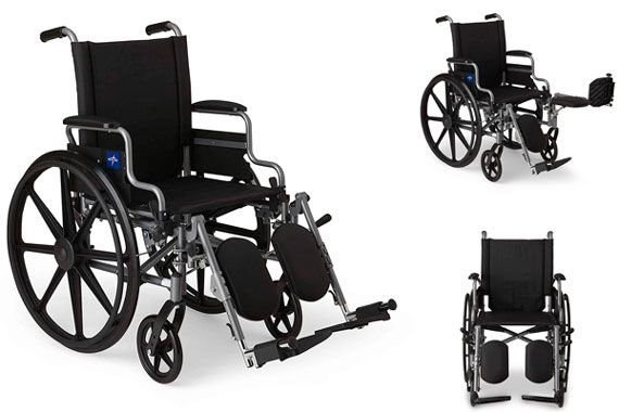 Wheelchair with Desk-Length Arms: photo