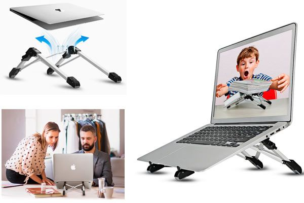 Megainvo Portable Laptop Stand: photo