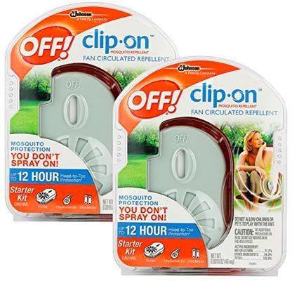 Clip-on Bug Repellent Fan: photo