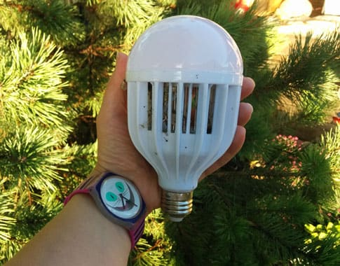 Pest Venator Bug Zapper Bulb: photo