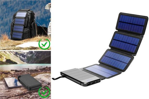 iBose Solar Charger: photo