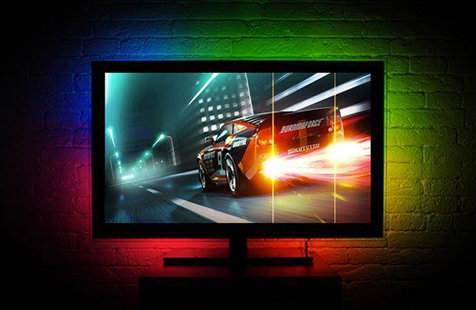 gaming tv backlight