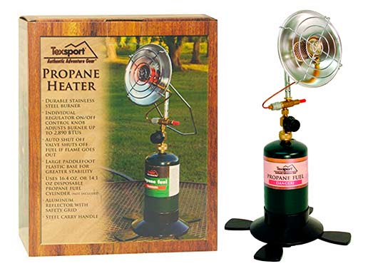 Texsport Portable Outdoor Propane Heater: photo
