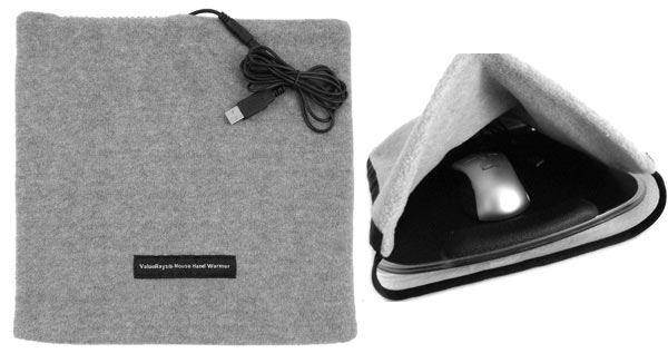 USB Mouse Pad Hand Warmer: photo