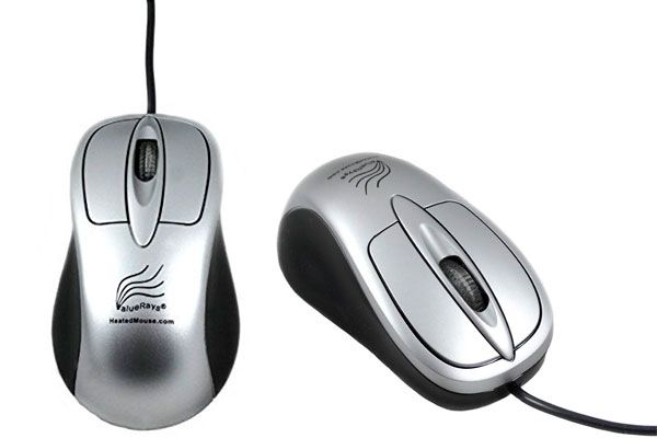 heated optical mouse: photo