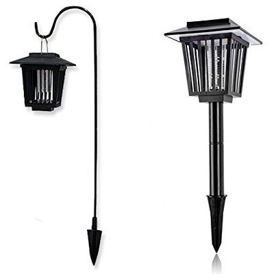 Vexverm Solar-Powered Bug Zapper: photo