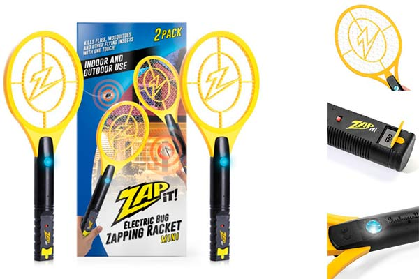 Electric Bug Zapper Swatter: photo