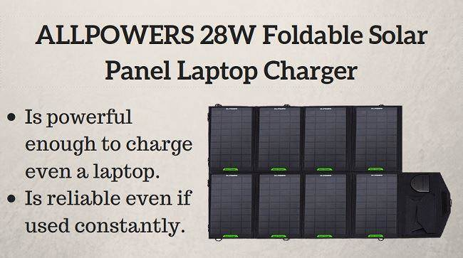 best solar laptop charger