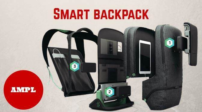 smart backpack AMPL