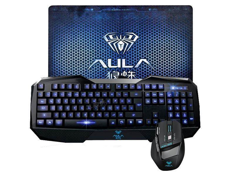 Death Wings AULA Gaming Combo