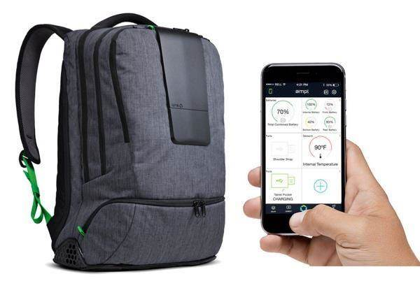 ampl-smart bag for different gadgets