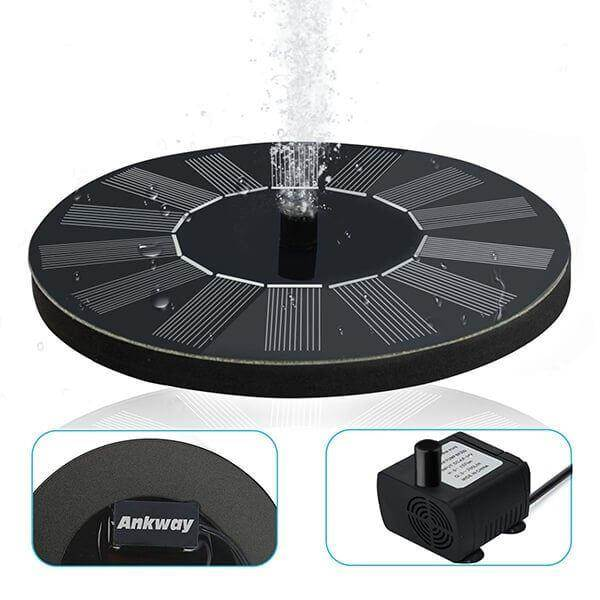best solar bird bath fountain